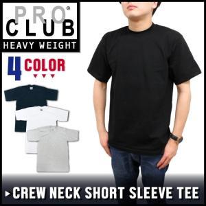 【クリアランスセール!!】 プロクラブ PRO CLUB 半袖 Tシャツ ヘビーウェイト 6.5oz アメリカ製 シンプル 無地 メンズ レディース|socalworks