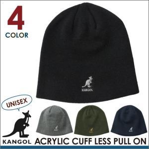 【決算セール】カンゴール KANGOL ACRYLIC CUFFLESS 帽子 ビーニー ニット帽 キャップ カンガルー メンズ レディース socalworks