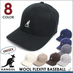 【決算セール】カンゴール KANGOL ウール ブレンド フレックスフィット ベースボール FLEXFIT 帽子 キャップ socalworks