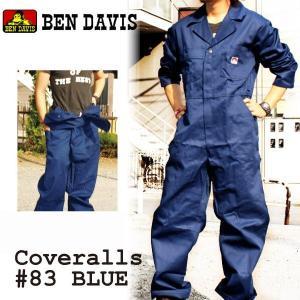 ベンデイビス BEN DAVIS 長袖 カバーオール つなぎ  #83  ( ben12a )|socalworks
