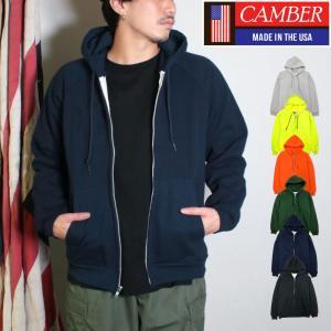 キャンバー CAMBER ジップフードパーカー チルバスター ワッフルサーマル 長袖 7.5オンス  メンズ socalworks