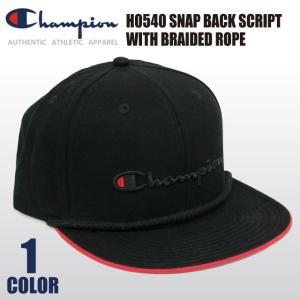 【決算セール】チャンピオン Champion ベースボール キャップ スナップバック Cロゴ ロープ アジャスター 帽子 メンズ レディース socalworks