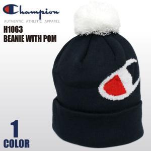 【決算セール】チャンピオン Champion ビーニー ニットキャップ ワッチキャップ ポンポン ニット帽 帽子 メンズ レディース socalworks
