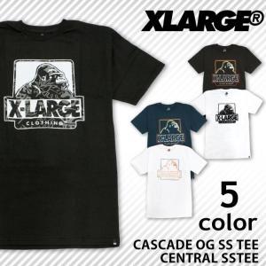 【クリアランスセール!!】 エクストララージ XLARGE X-LARGE 半袖 Tシャツ ゴリラ ロゴ コットン メンズ レディース ユニセックス|socalworks