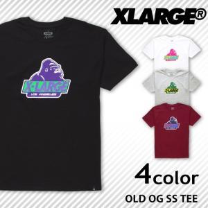 【クリアランスセール!!】 エクストララージ X LARGE 半袖 Tシャツ プリント オールド ロゴ コットン|socalworks