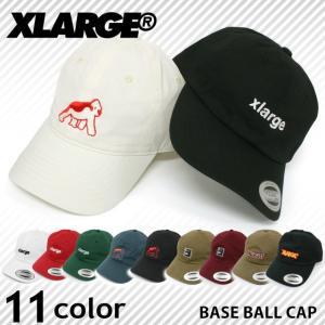 【決算セール】エクストララージ X-LARGE コットン ベースボールキャップ ローキャップ 帽子 ハット 刺繍 メンズ レディース socalworks