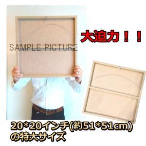 本田圭佑 日本代表 52x52cm特大サイズ! サッカーグラフィックアートパネル 木製 壁掛け ポスター|soccerart2|03