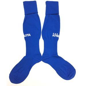 アスレタ ATHLETA ゲームストッキング ブルー サッカー フットサル 靴下 ソックス 01080BLU soccershop-players