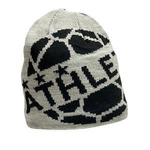 アスレタ ATHLETA ニットキャップ グレー サッカー フットサル 帽子 ビーニー ニット帽 05264 60|soccershop-players