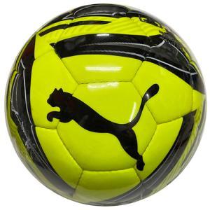 プーマ PUMA アイコンボールSC イエローアラート×プーマブラック サッカーボール 4号 検定球 083611 02 soccershop-players