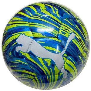 プーマ PUMA ショックボールSC エナジーブルー×イエロー サッカーボール 4号 検定球 083613 01 soccershop-players
