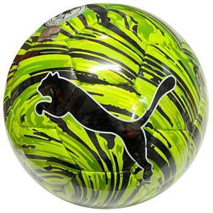 プーマ PUMA ショックボールSC イエローアラート×プーマブラック サッカーボール 4号 検定球 083613 02 soccershop-players