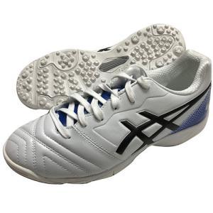 アシックス Asics ジュニア ウルトレッツァ GS TF ホワイト×ブルー トレーニングシューズ マルチスタッドシューズ 1104A021 100|soccershop-players