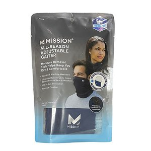 ミッション MISSION アジャスタブル ゲイター ネイビー マスク Adjustable Gaiter 1109521 soccershop-players