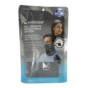ミッション MISSION アジャスタブル ゲイター チャコール マスク Adjustable Gaiter 1109522 soccershop-players