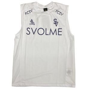 スボルメ SVOLME ノースリメッシュインナー ホワイト サッカー フットサル インナーシャツ ノースリーブ 1201-54100 WHT soccershop-players