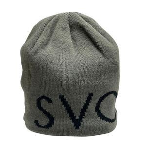 スボルメ SVOLME ロゴビーニー グレー サッカー フットサル 帽子 ニット帽 1203 67321 GRY|soccershop-players