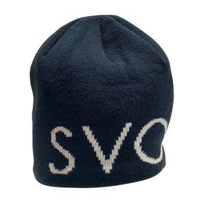 スボルメ SVOLME ロゴビーニー ネイビー サッカー フットサル 帽子 ニット帽 1203 67321 NVY|soccershop-players