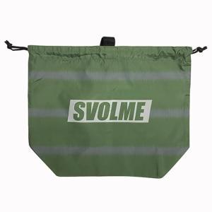 スボルメ SVOLME BORDERマルチボールバッグ カーキ サッカー フットサル ボールバッグ 1213 90420 KHK|soccershop-players