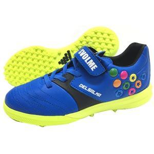 スボルメ SVOLME デルサルマ4 TFJ ジュニア トレーニングシューズ マジックテープ  ブルー 181 70062 BLU|soccershop-players