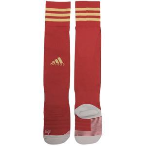 アディダス adidas adiソックス18 オーダーカラー パワーレッド×ダークフットボールゴールド サッカー ストッキング ソックス CV7441 REDGLD soccershop-players