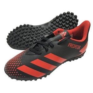 アディダス adidas ジュニア プレデター20.4TF J Cブラック×Aレッド サッカーシューズ マルチスタッドシューズ トレーニングシューズ EF1956|soccershop-players