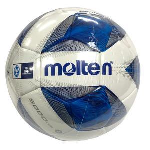 モルテン molten ヴァンタッジオ5000 キッズ ホワイト×ブルー 4号 サッカーボール サッカー 検定球 F4A5000 soccershop-players