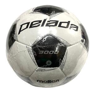 モルテン molten ペレーダ3000 ホワイト×メタリックブラック 4号 サッカーボール ボール サッカー 検定球 F4L3000 soccershop-players