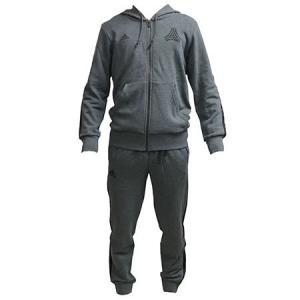 アディダス adidas タンゴ ストリートスウェット 上下セット フードジャケット ジョガーパンツ ダークグレーヘザー FAQ03 DJ1500 EKQ35 DM1450|soccershop-players