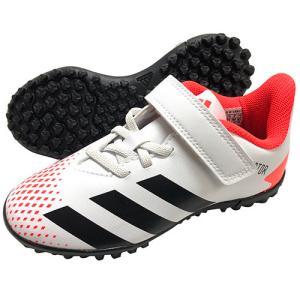 アディダス adidas ジュニア プレデター20.4 TF フットウェアホワイト×コアブラック×ポップ サッカーシューズ トレーニングシューズ FV4326|soccershop-players