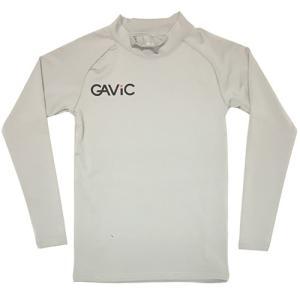 ガビック GAViC サッカー フットサル ストレッチインナートップ ロング ジュニア グレー シルバー GA8801 SLV soccershop-players