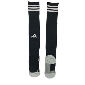 アディダス adidas adiソックス18 ブラック×ホワイト サッカー フットサル ストッキング ソックス 靴下 GOG32 FJ7525 soccershop-players