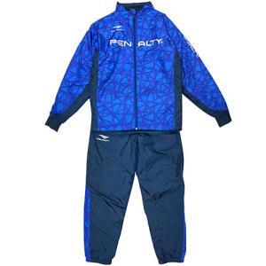 ペナルティ PENALTY ウォーマースーツ ブルー 上下セット サッカー フットサル ウインドブレーカー PO0516 80 soccershop-players
