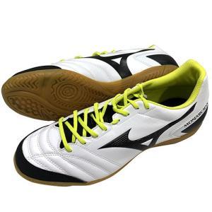ミズノ MIZUNO モナルシーダ SALA SELECT IN ホワイト×ブラック フットサルシューズ インドアシューズ Q1GA1912 09 soccershop-players