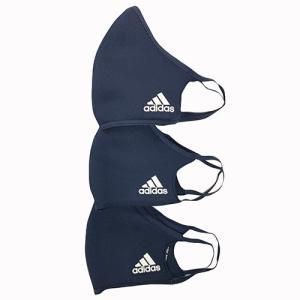 アディダス adidas フェイスカバー 3枚組 ネイビー サッカー フットサル マスク RF495 HF7046 soccershop-players