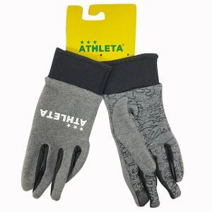 アスレタ ATHLETA フリースフィールドグローブ グレー サッカー フットサル フィールドグローブ SP-157 60|soccershop-players