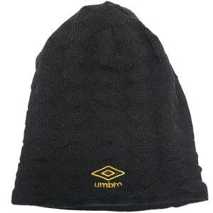アンブロ UMBRO ジュニア リバーシブルフリースニットキャップ ブラック チャコール サッカー フットサル ニットキャップ 帽子  UJA2640J BKCH|soccershop-players