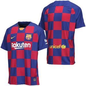 ラ・リーガ(スペイン)、FCバルセロナの2019-2020シーズンHOMEモデル半袖レプリカユニフォ...