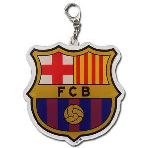 バルセロナ ファンアクセサリー バルセロナ アクリルBIGキーリング|soccershop