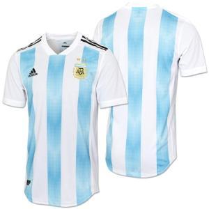 アディダス レプリカウェア 2018 アルゼンチン代表 HOME オーセンティック ユニフォーム 半袖|soccershop