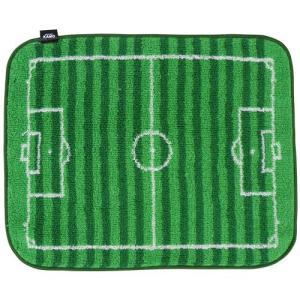 KAMO プレイヤーアクセサリー KAMO サッカーピッチ ミニタオル|soccershop