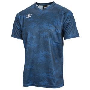 アンブロ サッカーウェア UK CAMOプラクティスS/Sシャツ|soccershop