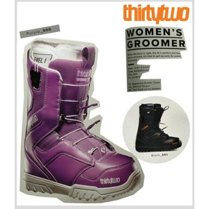 【30%OFF】【送料無料】14-15 SNOWBOARD BOOTS【 THIRTYTWO 】【32】WOMEN'S【 GROOMER FAST TRACK W'S 14 】【PURPLE】【 US7 / JP24.0 】【smtb-f】【u】|society06