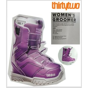 【30%OFF】【送料無料】14-15 SNOWBOARD WOMEN'S BOOTS【 THIRTYTWO 】【32】【WOMEN'S GROOMER】【PURPLE】【US6.5(23.5) 】【smtb-f】【mi】|society06
