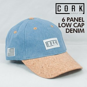 CORK SUPPLY CO コルクサプライ 6 PANEL LOW CAP シックスパネルロウキャップ フリーサイズ 期間限定 送料無料キャンペーン|society06