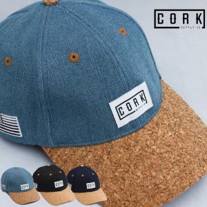 CORK SUPPLY CO コルクサプライ LOGO LOW ロゴ ロー CAP キャップ 帽子 カーブバイザー CORK コルク メンズ レディース スノボ スノーボード 人気|society06