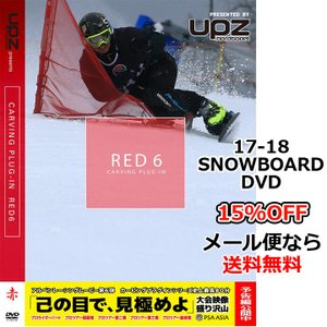 RED6 carving plug-in レッドシックス カービングプラグイン second production セカンドプロダクション 17-18 新作 SNOWBOARD DVD
