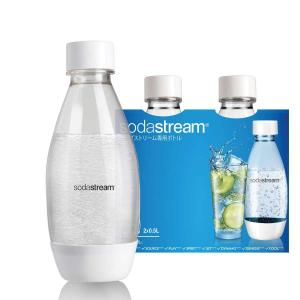 ソーダストリーム Fuse(ヒューズ)ボトル500mL 2本セット<炭酸水メーカー>