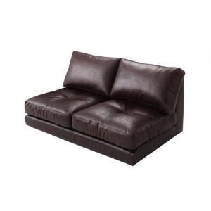 〔単品〕 ソファ 〔2Pソファ〕 肘なし|sofa-lukit