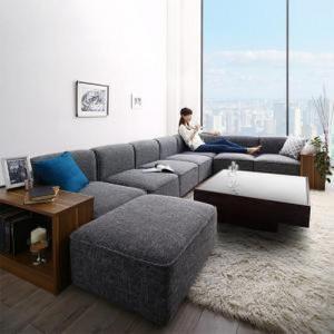 ソファ&サイドテーブルセット L字 コーナーソファ カウチ 5人掛け 〔5P 幅300cm〕 大型 L字型ソファー|sofa-lukit